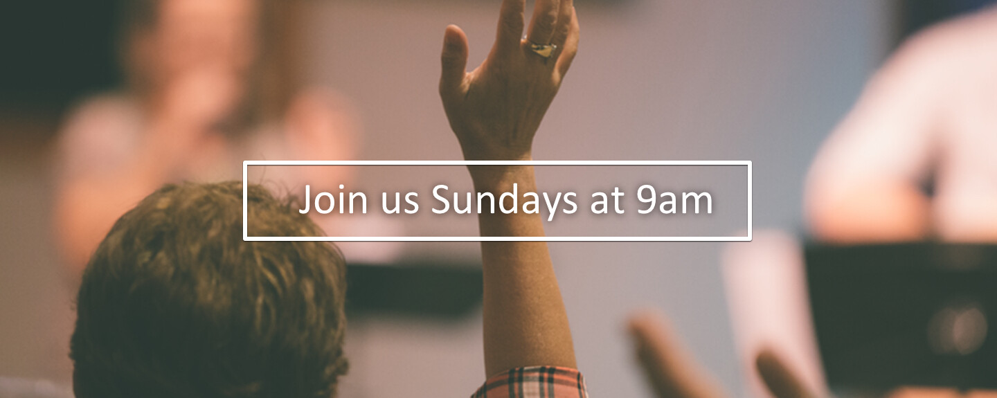 Join Us For Worship Sunday