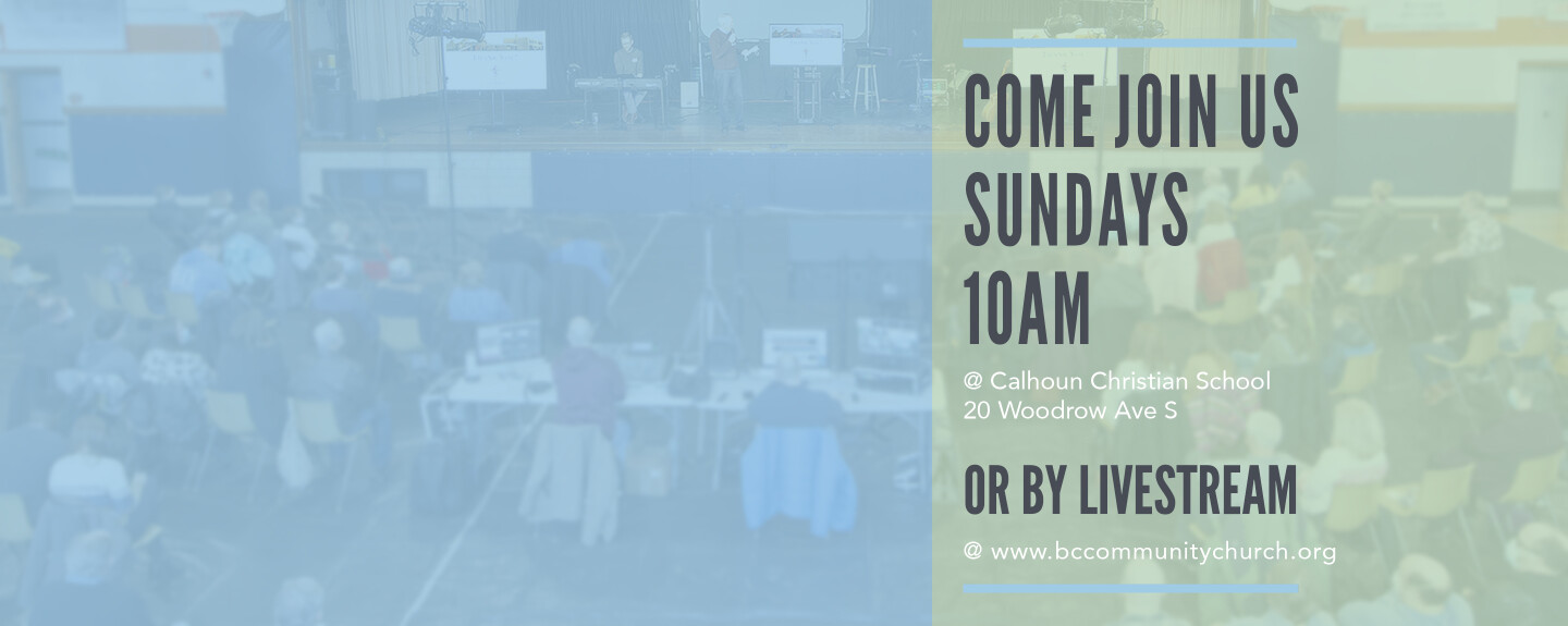In-Person Services This Sunday